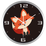 Design Wall Clock <br> Cute Fox