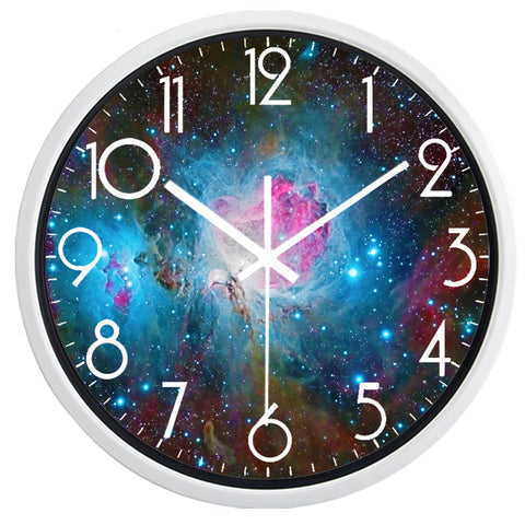 DESIGN WALL CLOCK GALAXY
