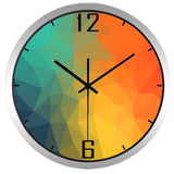 Design Wall Clock <br> Coloured Waterfall
