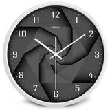 Design Wall Clock <br> Black Vortex