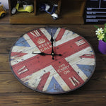 Vintage Wall Clock <br> Keep Calm
