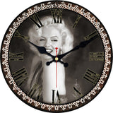 VINTAGE WALL CLOCK MARILYN MONROE
