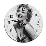Vintage Wall Clock <br> Marilyn Monroe