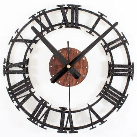 METAL WALL CLOCK INDUSTRIAL STYLE
