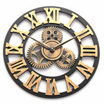 INDUSTRIAL WALL CLOCK EXTRA LARGE