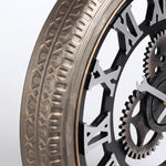 Industrial Wall Clock <br> Large Tire
