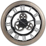 INDUSTRIAL WALL CLOCK LARGE TIRE