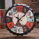 Vintage Wall Clock <br> Beer Capsule