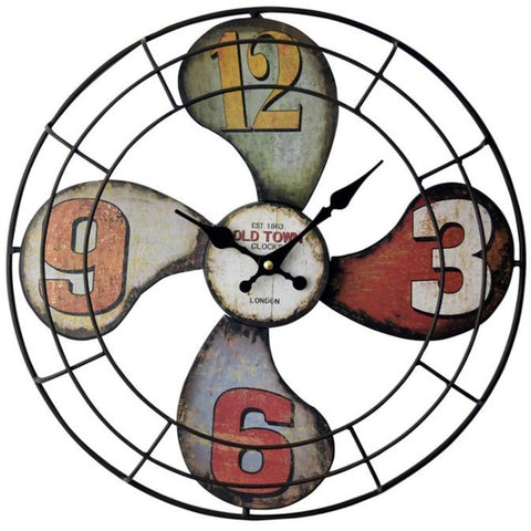 INDUSTRIAL WALL CLOCK PROPELLER