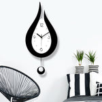 Design Wall Clock <br> Water Drop