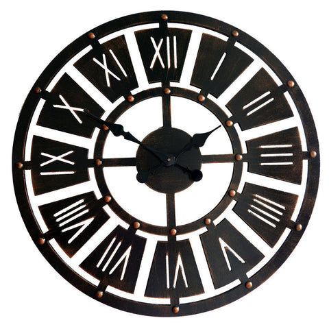 INDUSTRIAL WALL CLOCK VINTAGE DESIGN