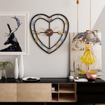 Industrial Wall Clock <br> Cupid's Heart