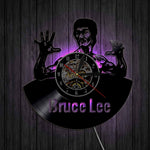 Vinyl Wall Clock <br> Bruce Lee