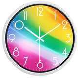 DESIGN WALL CLOCK RAINBOW
