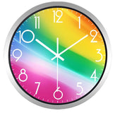 Design Wall Clock <br> Rainbow