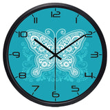 Design Wall Clock <br> Blue Butterfly