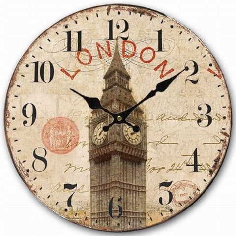 VINTAGE WALL CLOCK THE BIG BEN