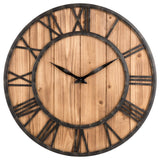 INDUSTRIAL WALL CLOCK ANCIENT EFFECT