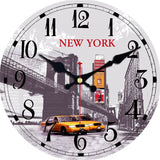 DESIGN WALL CLOCK AMERICAN STYLE