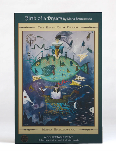 The Birth of a Dream 500-Piece Jigsaw Puzzle