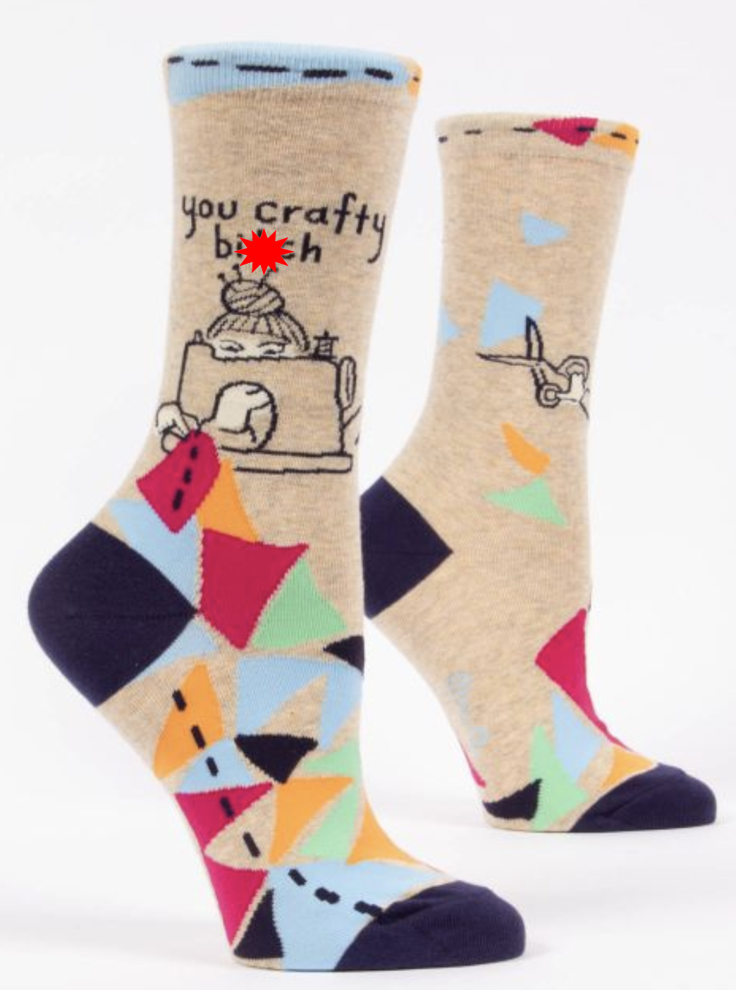 Blue Q You Fancy B**ch Women's Crew Socks