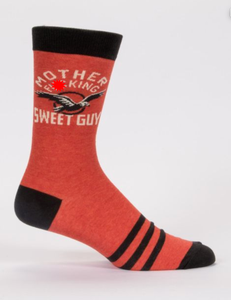 Blue Q Motherf**king Sweet Guy Men's Crew Socks