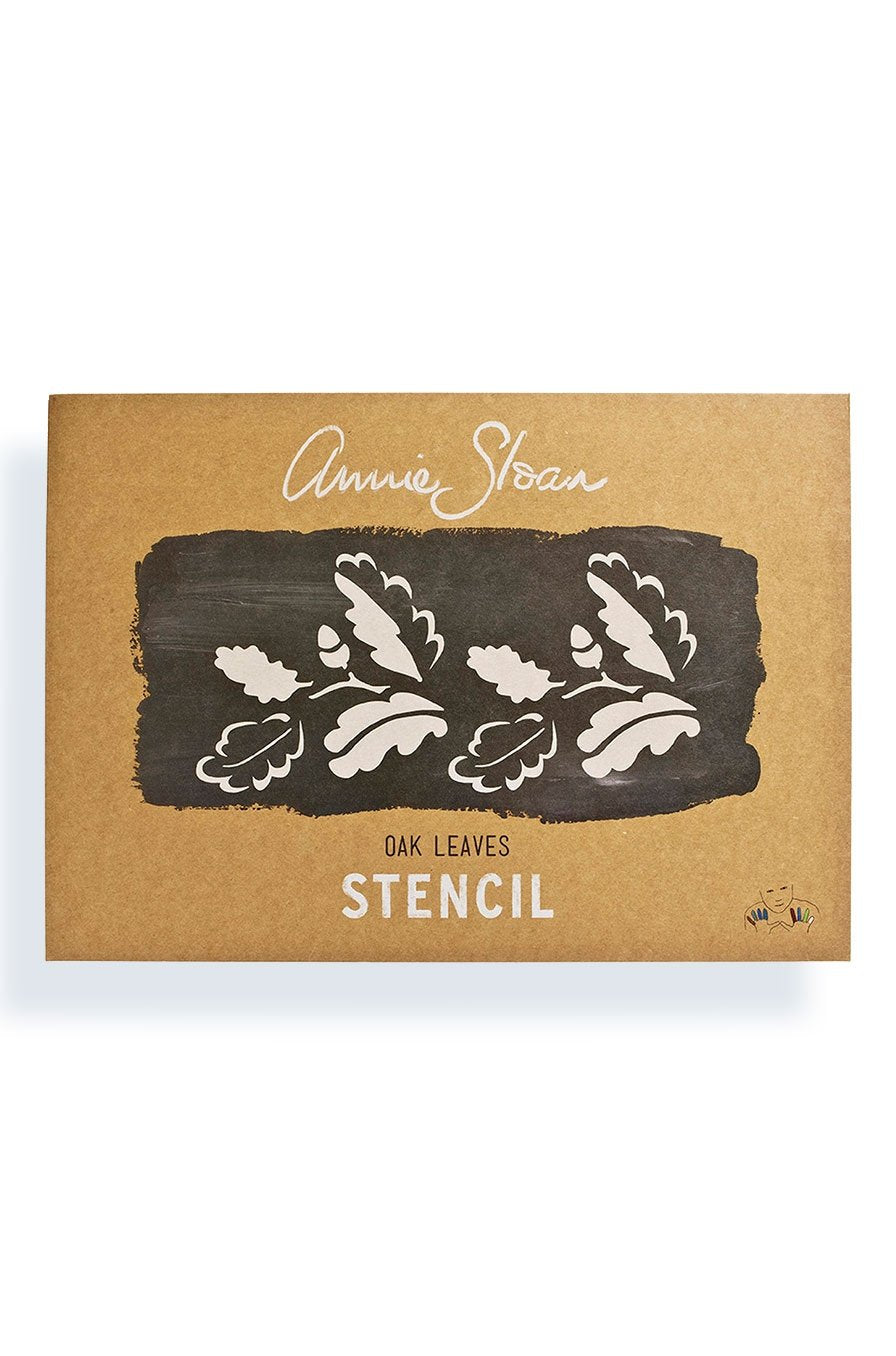 Annie Sloan Stencils - Oak Leaves