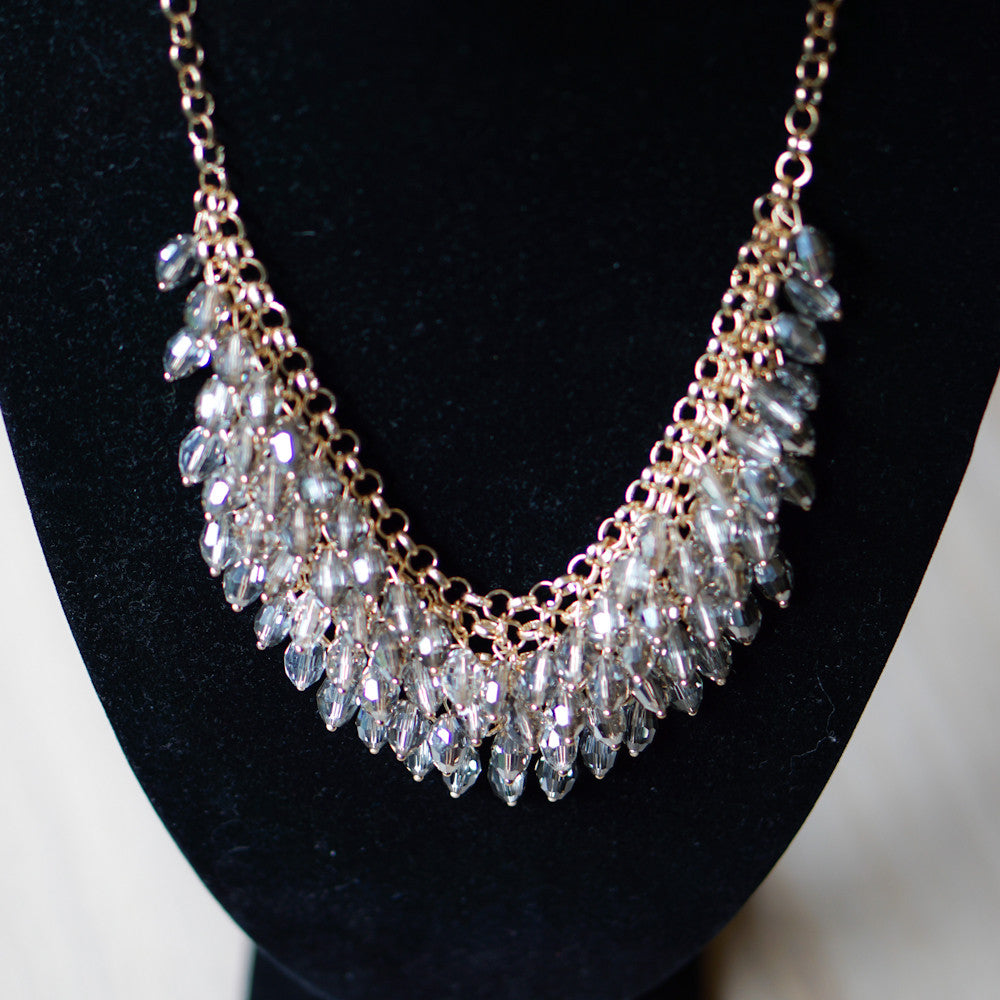 Dazzling Faceted Necklace (Last piece)