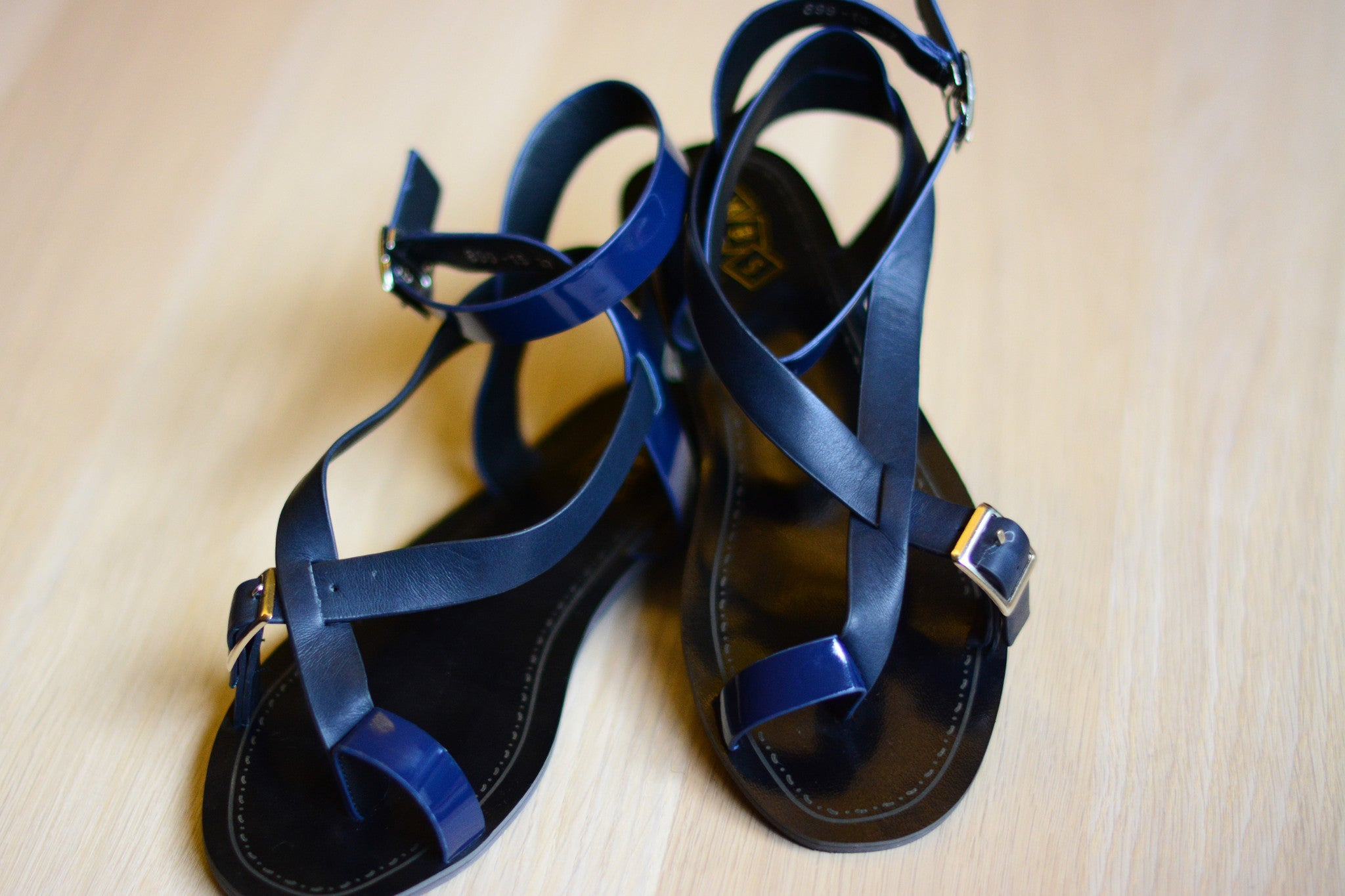 Louis Sandals in Navy Blue (Last pair)