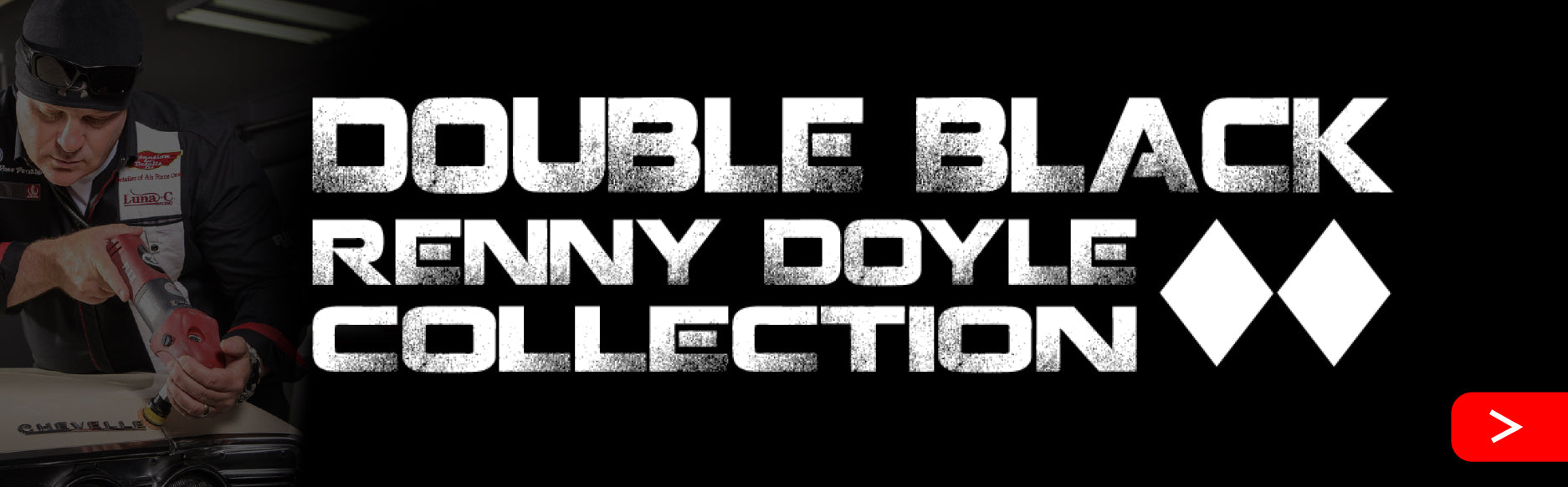 Double Black Renny Doyble Collection banner logo