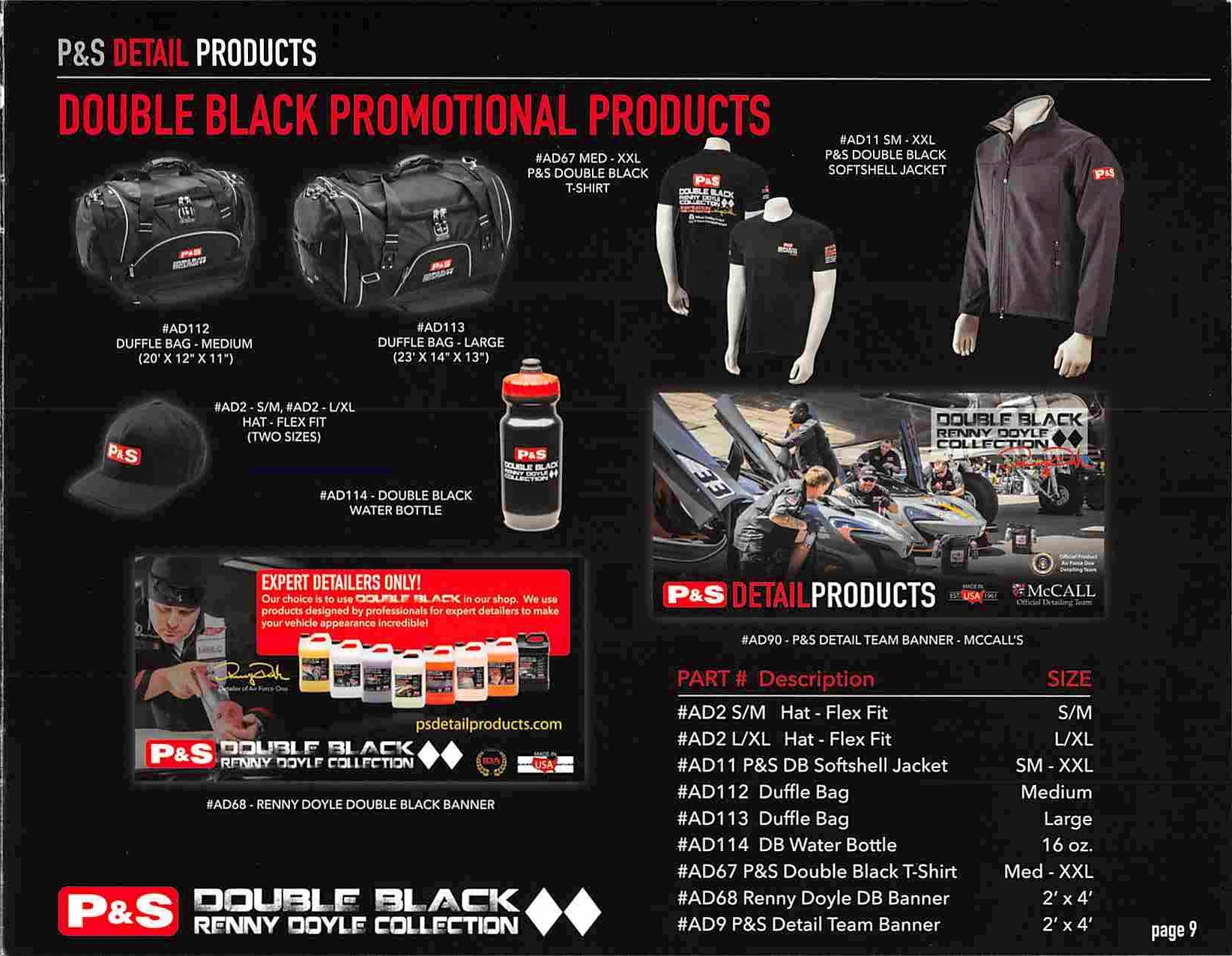 Page 11 of the Double Black Renny Doyle Collection Catalogue
