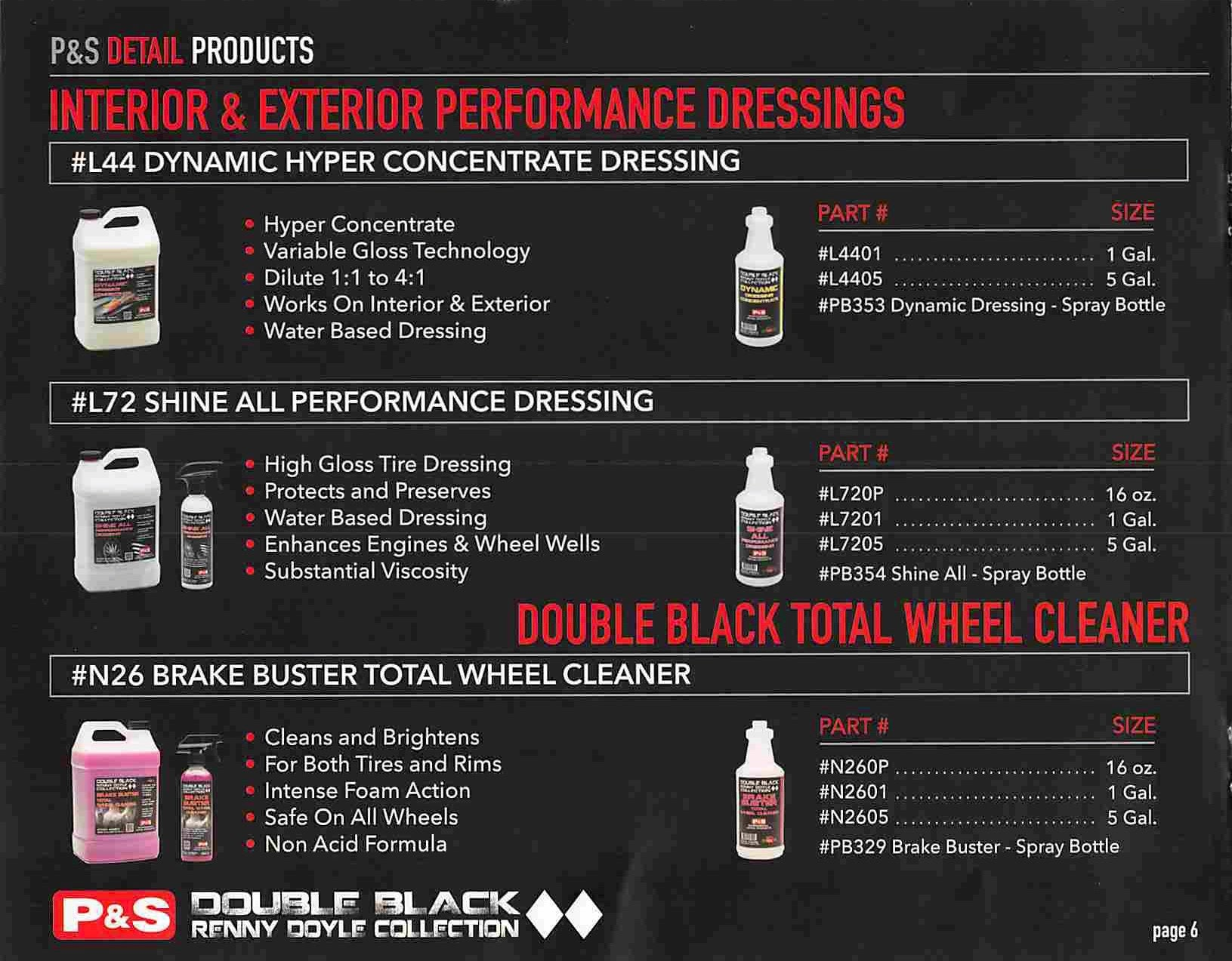 Page 8 of the Double Black Renny Doyle Collection Catalogue