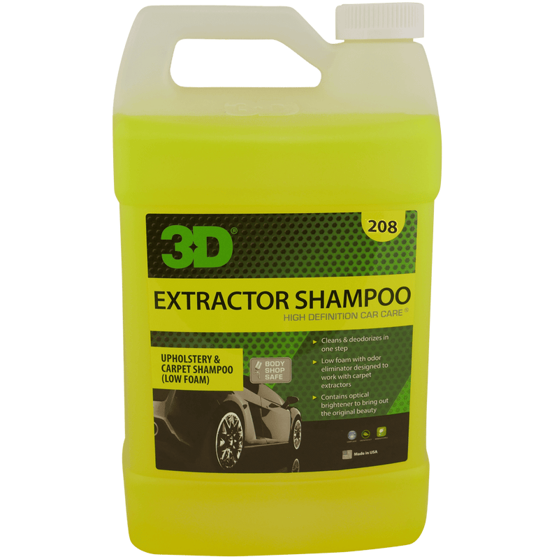 3D Products Canada Carpet Care and Upholstrey 1 gallon 3D Products Extractor Shampoo