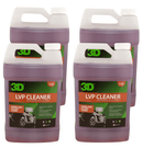3D Products Canada Interior Cleaning & Care 4 pack 3D Leather LVP Leather Vinyl and Plastic Cleaner