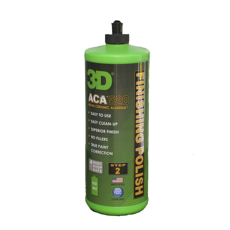 3D Products Canada Paint Correction 32 oz 3D Products ACA 520 Finishing Polish