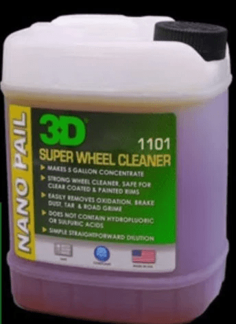 3D Products Canada wheel maintenance 64 oz 3D Products Super Wheel Cleaner Concentrate