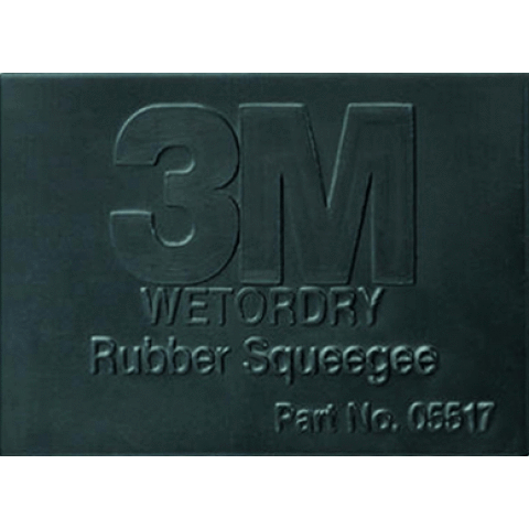 3M Auto Miscellaneous 3M Auto Wet or Dry Rubber Squeegee