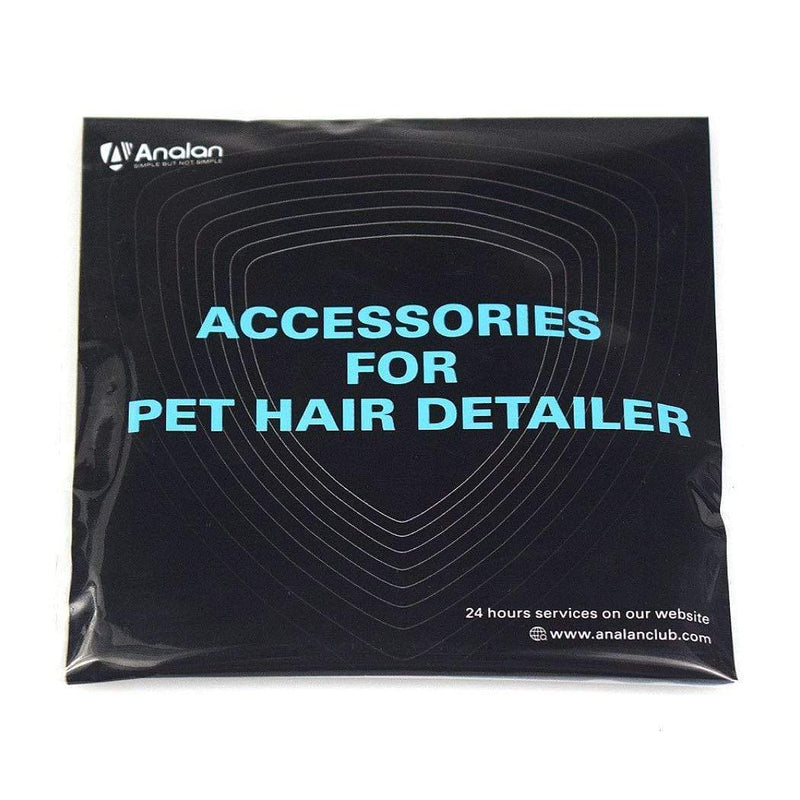 Analan Carpet Care and Upholstrey ANALAN Mini Pet Hair Remover for Auto Detailing,Home Clean Replacement Blades ****