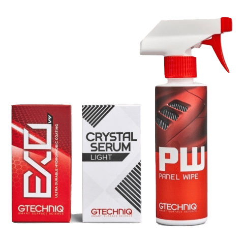 Gtechniq Gtechniq Panel Wipe, Crystal Serum and Exov4 Kit