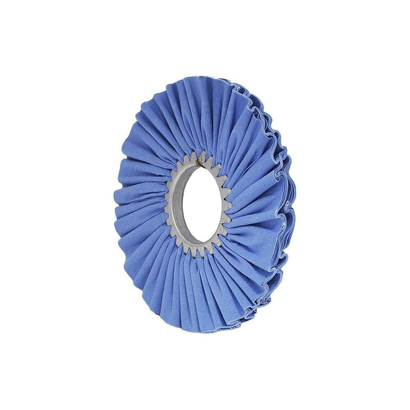 "Matchless Buffing Wheel 10"" x 3"" Matchless Blue Airway Buffing Wheel"