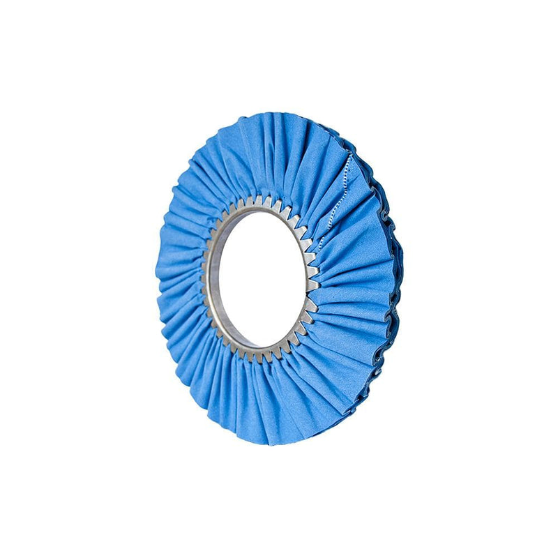 "Matchless Buffing Wheel 12"" x 5"" Matchless Blue Airway Buffing Wheel"