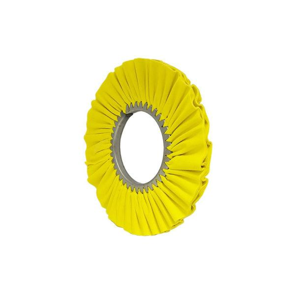 "Matchless Buffing Wheel 12"" x 5"" Matchless Yellow Airway Buffing Wheel"