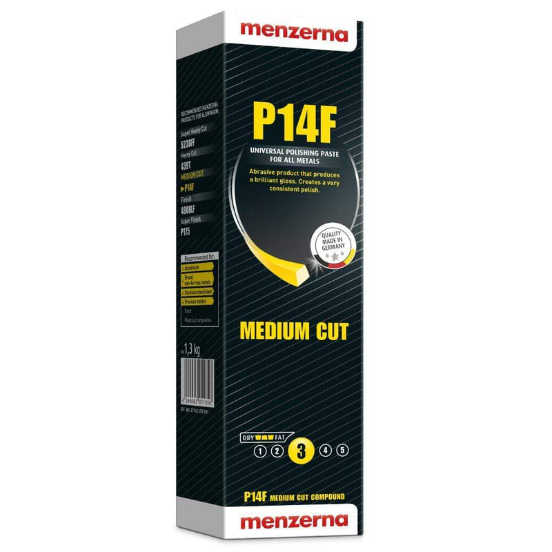 Menzerna Metal Polish Menzerna Medium Cut Compound P14F