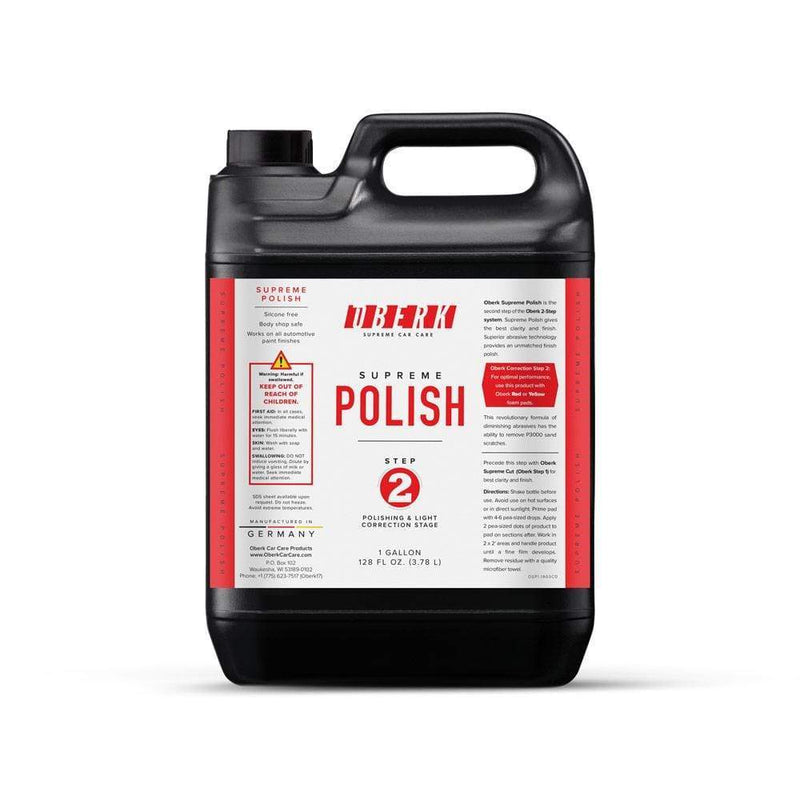 Oberk Paint Correction 128 (1 gallon) Oberk Supreme Polish Step 2 ****