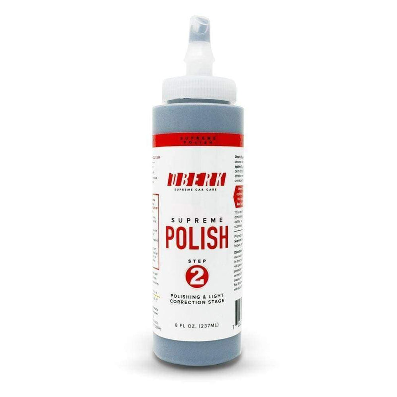 Oberk Paint Correction 8 oz Oberk Supreme Polish Step 2 ****