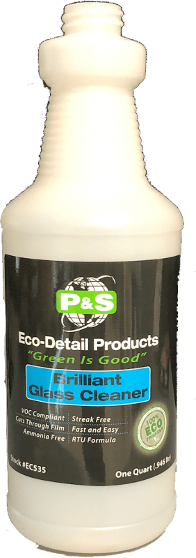 P&S Bottle Brilliant Glass Cleaner bottle P&S EcoDetail Empty Spray Bottles