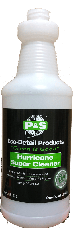 P&S Bottle Hurricane Super Cleaner bottle P&S EcoDetail Empty Spray Bottles