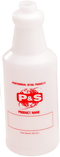 P&S Bottle Labeled Quart Sized P&S Empty Spray Bottles