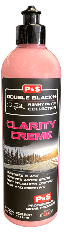 P&S Double Black Renny Doyle Collection Glass Treatment Pint Double Black Renny Doyle Collection Clarity Creme Glass Polish ***
