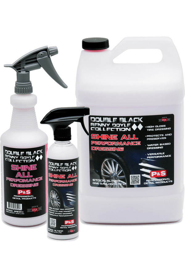 P&S Double Black Renny Doyle Collection interior and exterior dressings Double Black Renny Doyle Shine All Performance Dressing ***